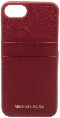 Michael Kors Electronic Leather Phone Cover with Pocket 7