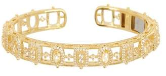 Judith Ripka Sanibel Multi-Gemstone Cuff Bracelet