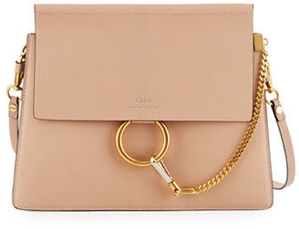Chloe Faye Medium Leather Shoulder Bag $2,050 thestylecure.com