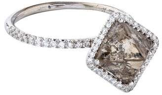Diamond in the Rough 5.54ct Covet Rough Diamond Engagement Ring