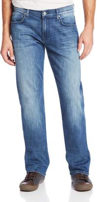 7 For All Mankind Men's Carsen Straight Leg Luxe Performance Jean in Blue Ice