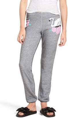 Wildfox Couture Knox - Swans Crossing Sweatpants