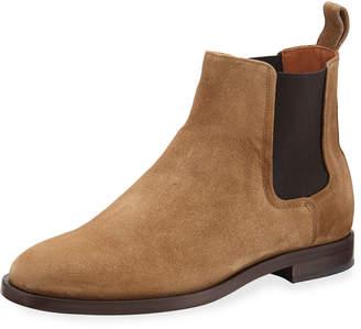 Lanvin Men's Suede Chelsea Boots