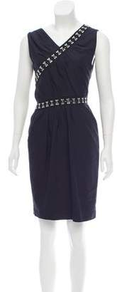 Thakoon Latch-Accented Mini Dress