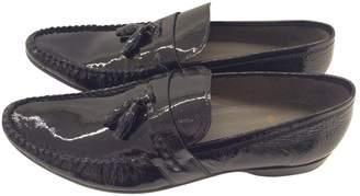 Etro Black Leather Flats