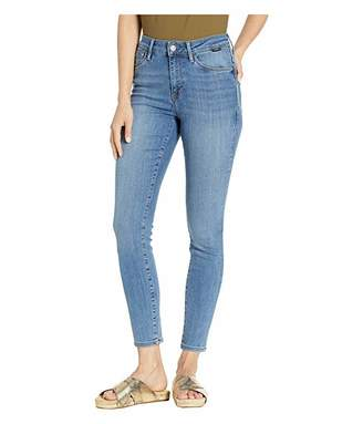 Mavi Jeans Alissa High-Rise Super Skinny Ankle in Light Brushed Supersoft