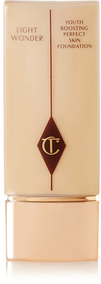 Charlotte Tilbury - Light Wonder Youth-boosting Foundation – Fair 2, 40ml - Beige $45 thestylecure.com