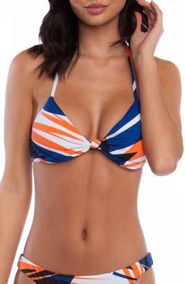Bikini Lab The Sonic Boom Triangle Bikini Top