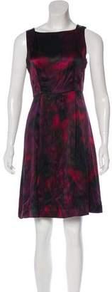 Theory Printed Silk Dress