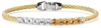 Alor Multicolor Stone Cable Bangle Bracelet