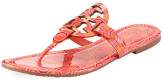 Tory Burch Miller Printed Flat Thong Sandal