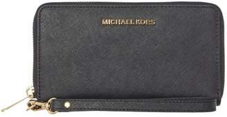 Michael Kors Jetset black multi function ziparound purse