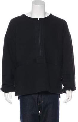 Yeezy Military Half-Zip Pullover Sweatshirt
