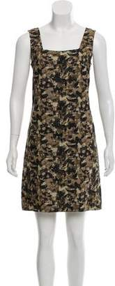 Dolce & Gabbana Linen Sleeveless Mini Dress