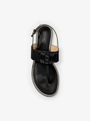 MICHAEL Michael Kors Michelle Patent-Leather Thong