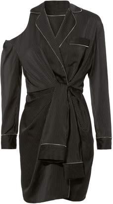 Alexander Wang Pajama Silk Wrap Dress