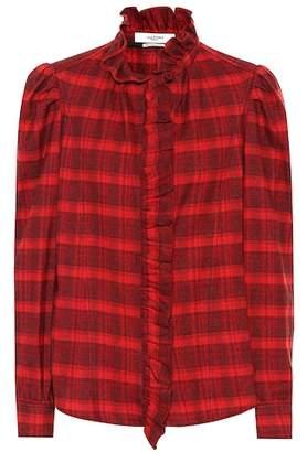 Etoile Isabel Marant Isabel Marant, Étoile Dules checked cotton shirt