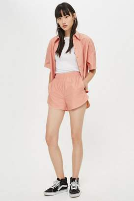 Topshop Paper Runner Shorts by Boutique