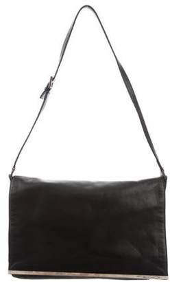 Fendi Leather Flap Bag