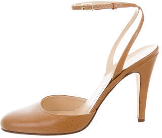 Kate SpadeKate Spade New York Leather Ankle-Strap Pumps