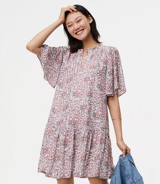 Flowerbud Button Sleeve Dress $89.50 thestylecure.com