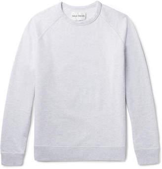 Privee SALLE Cole Mélange Loopback Cotton-Jersey Sweatshirt