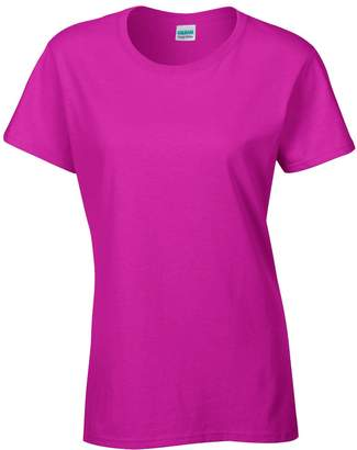 Gildan Ladies/Womens Heavy Cotton Missy Fit Short Sleeve T-Shirt (S)