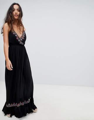 Raga Bandita Embroidered Maxi Dress