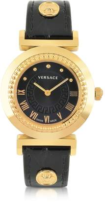Versace Vanity Lady Black Women's Watch