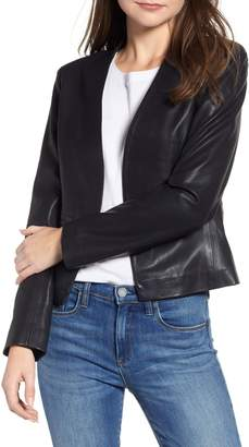 Blank NYC BLANKNYC Faux Leather Blazer