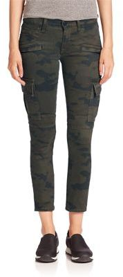 Hudson Colby Moto Skinny Cargo Jeans $235 thestylecure.com