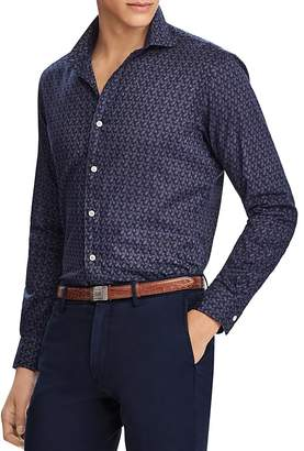 Polo Ralph Lauren Plaid Poplin Classic Fit Button-Down Shirt