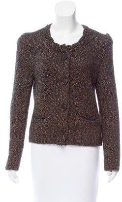 Isabel Marant Metallic Button-Up Cardigan