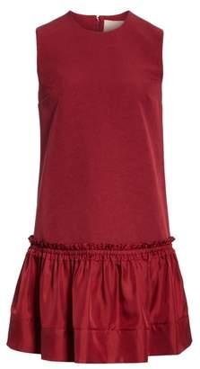 Roksanda Tanaga Drop Waist Silk Blend Dress