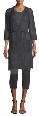 Eileen Fisher Kimono Long Cardigan
