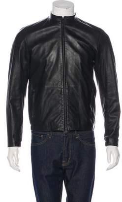 Theory Lamb Leather Jacket
