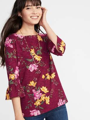 Old Navy Ruffle-Sleeve Mariner Top for Women