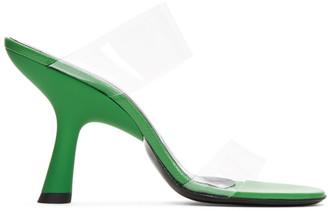 Simon Miller Green Tall Tee Sandals