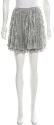 Timo Weiland Pleated Mini Skirt