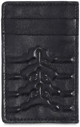 Alexander McQueen Skeleton Leather Card Holder