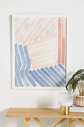 Anthropologie Abstract Lines Wall Art