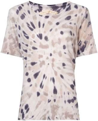 Raquel Allegra boxy tie dye T-shirt