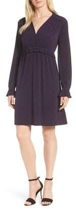 MICHAEL Michael Kors Deco Fit & Flare Dress
