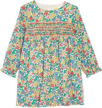 Boden Mini Smocked Flower Print Dress