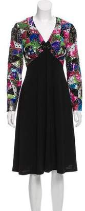 Manoush Embellished A-Line Dress