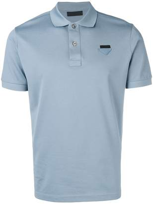 Prada chest logo polo shirt