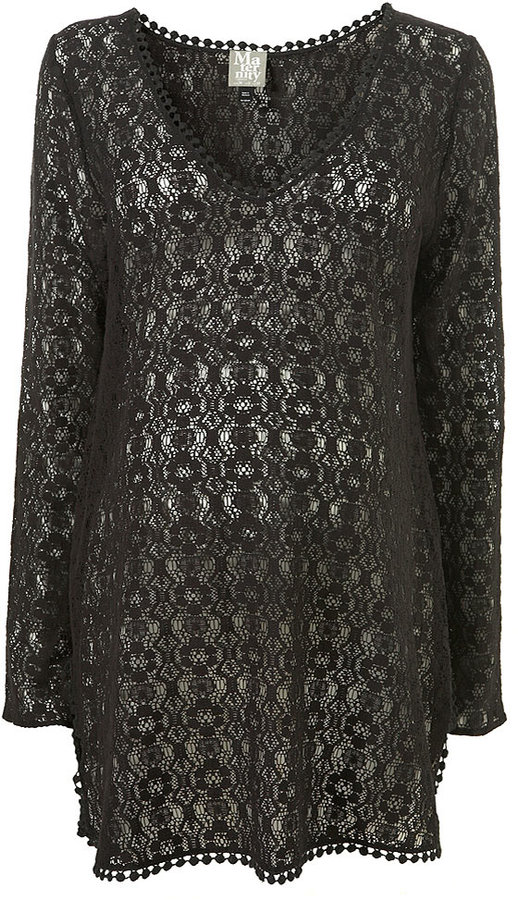 Maternity Lace Cover Up
