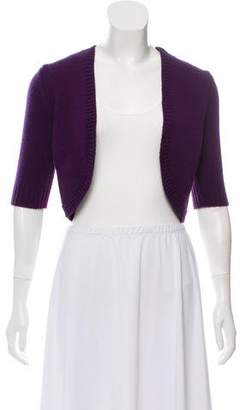 Michael Kors Short Sleeve Cashmere Cardigan