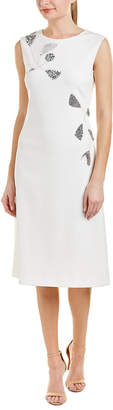 Escada Silk-Lined Shift Dress