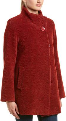 Cinzia Rocca Wool & Alpaca-Blend Coat